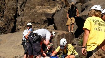 Tourist dies after slipping at Yosemite National Park waterfall