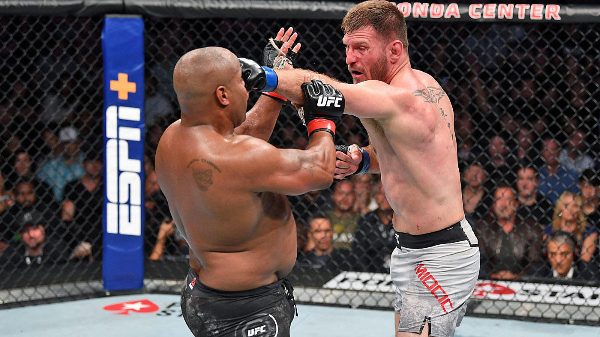 UFC 241 results, highlights: Stipe Miocic rallies to TKO Daniel Cormier, regains heavyweight title