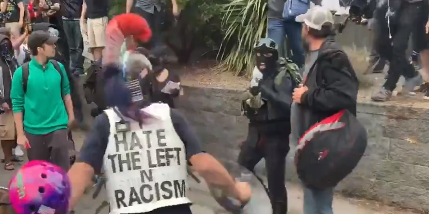 UPDATED: Violence in Portland as Antifa assaults numerous people