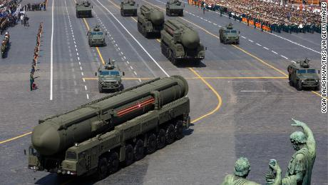 "Russia might be trying to look more to look ""more militarily formidable than it is."""