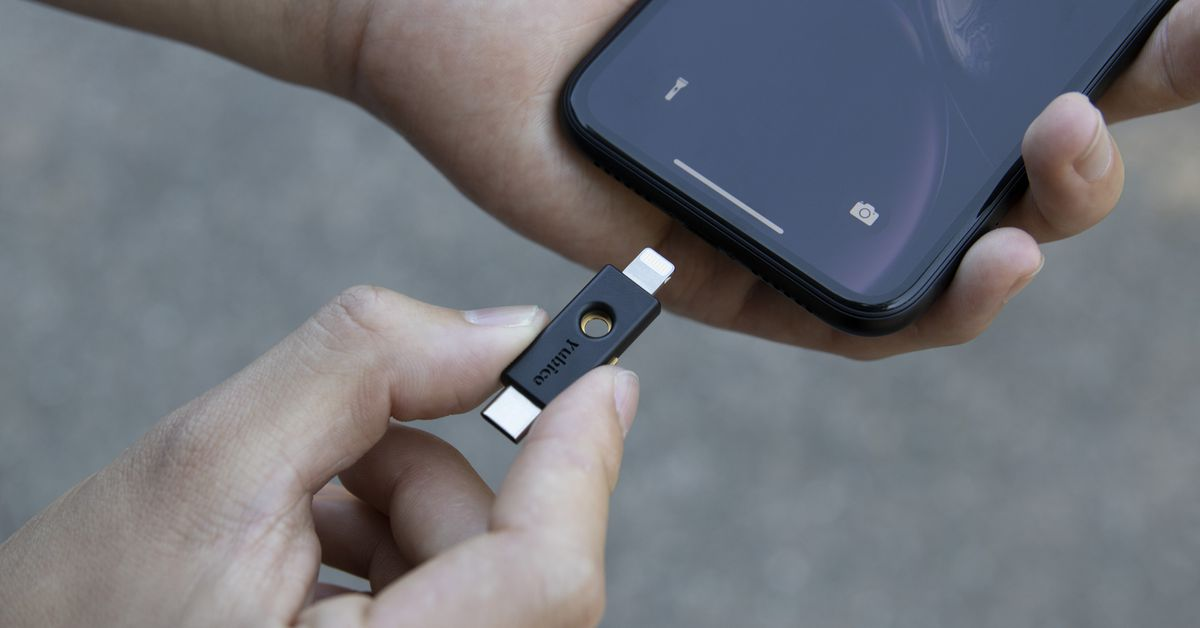 Yubico releases the first Lightning security key for iPhones