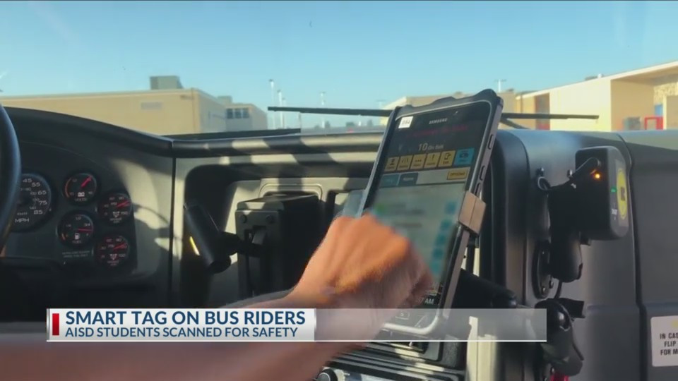 Abilene ISD's new technology tracks buses and the students on them | KTAB