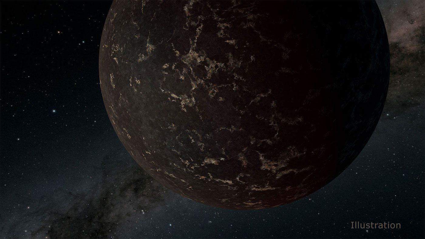 Astronomers Spy the Surface of An Airless Mercury-Like World | Smart News