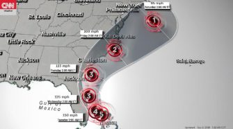 Hurricane Dorian kills at least one in the Bahamas and is now heading toward the US