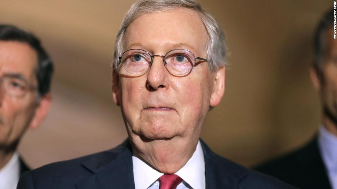 McConnell says he won't take up gun bill unless Trump says he will sign it
