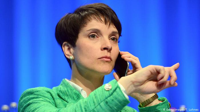 Frauke Petry (Getty Images/T. Lohnes)