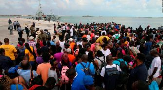 Bahamas: As evacuations continue, dozens of islanders were told to get off a ferry headed to the US