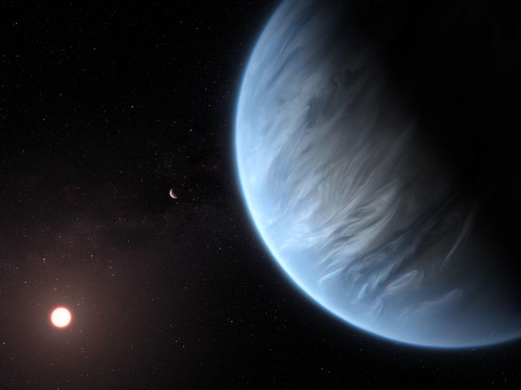 Vapor found at potentially habitable planet: 'Possible this is a water world'