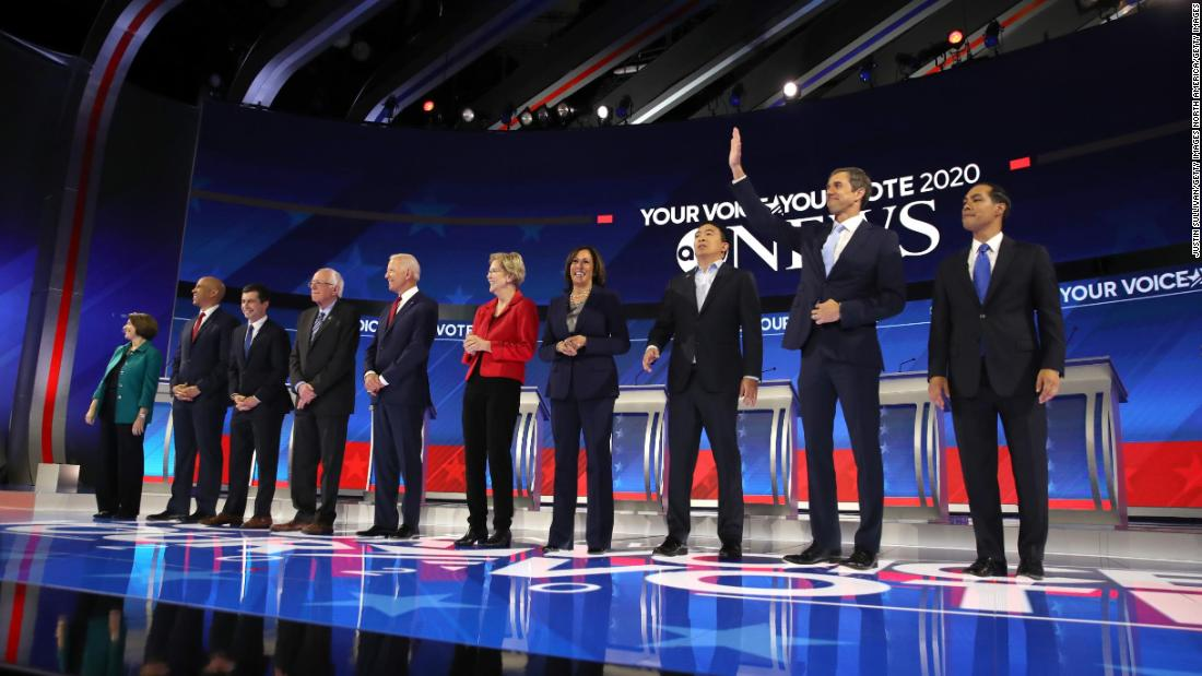 7 highlights from the September Democratic debate