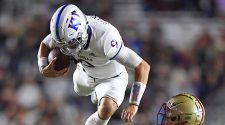 KU's offense comes alive to soar past Boston College for 48-24 win