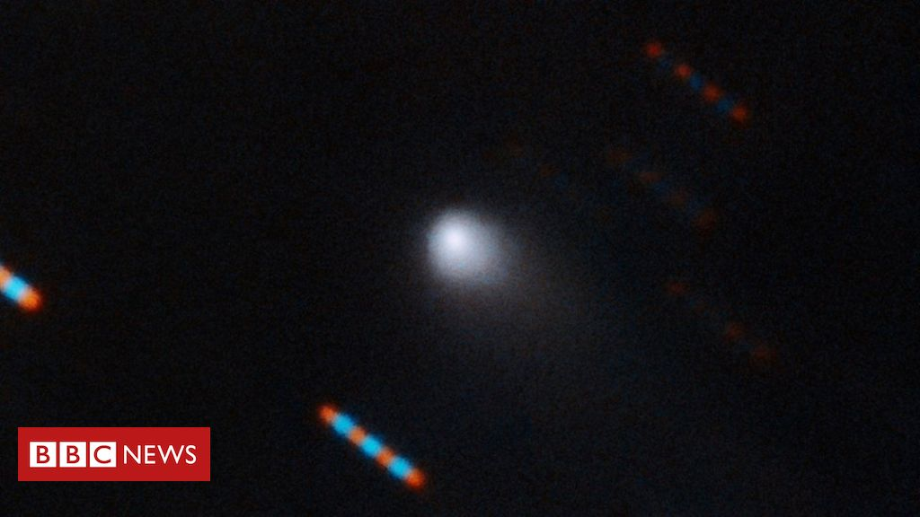 First measurements of 'interstellar comet'