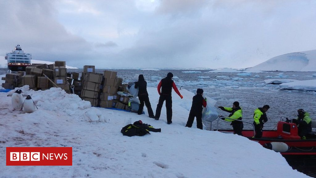 Post office team picked for Antarctic Port Lockroy base