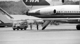 TWA aircraft hijacking suspect arrested by Greek police
