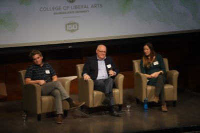 panel listens to audience