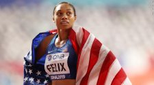 Olympic sprinter Allyson Fenix breaks Usain Bolt's record for most World Championship gold medals