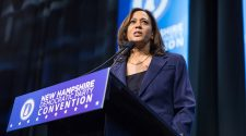 Harris repeatedly defends response to mental health slur at rally