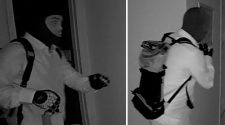 2 men caught on camera breaking into Mount Sinai, Suffolk County home