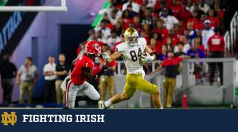 #7 Irish Fall Short at #3 Georgia, 23-17