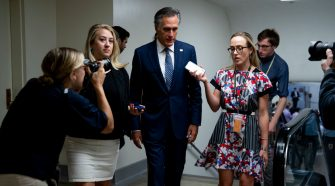 As Republicans Face Impeachment Dilemma, Romney Is a Lonely Voice of Concern
