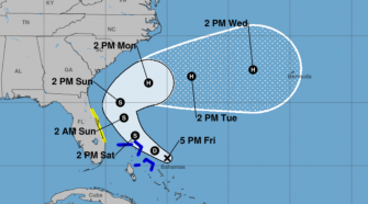 Bahamas brace for tropical storm as Tropical Depression Nine nears area hit by Hurricane Dorian - latest path, track, updates
