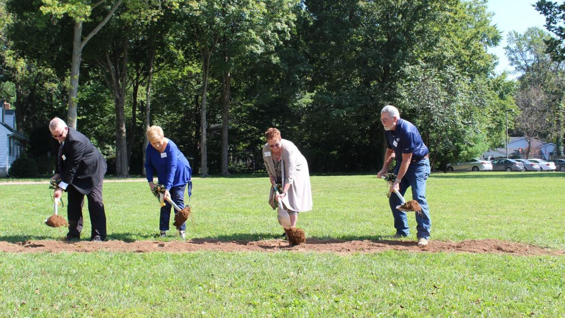 Breaking ground on center   Local Business