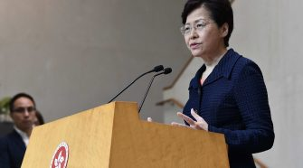 Carrie Lam to make announcement Wednesday