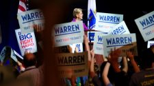 "Elizabeth Warren at New York City rally: ""Corruption is breaking our democracy"""