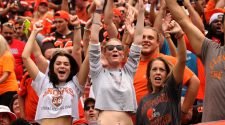 Faces in the crowd at the Browns season opener against Tennessee Titans in Cleveland (photos)