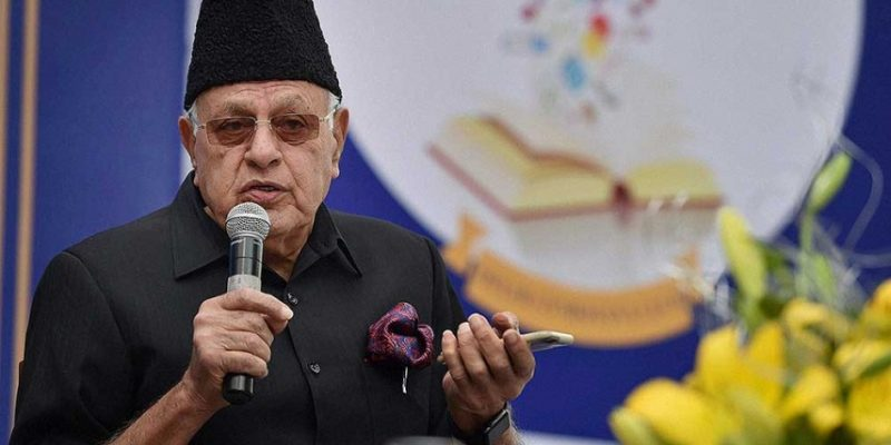 Government Detains Farooq Abdullah Under Draconian PSA