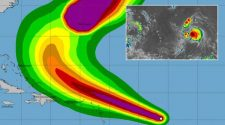 Hurricane Jerry path: Storm on devastating route as it strengthens into hurricane - MAP   World   News
