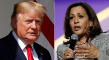 Kamala Harris apologizes for laughing after audience member calls Trump 'mentally retarded'