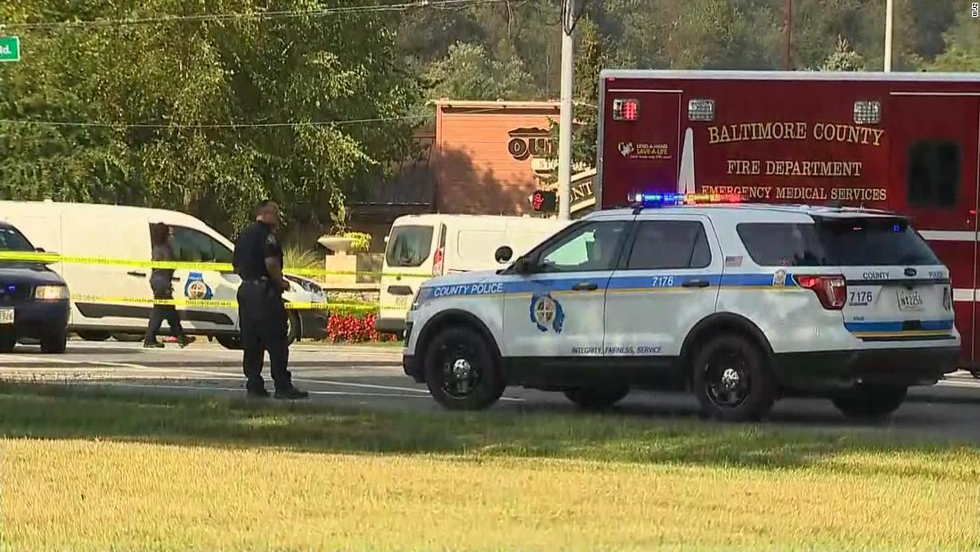 Maryland police shoot and kill a man who stabbed 5 people