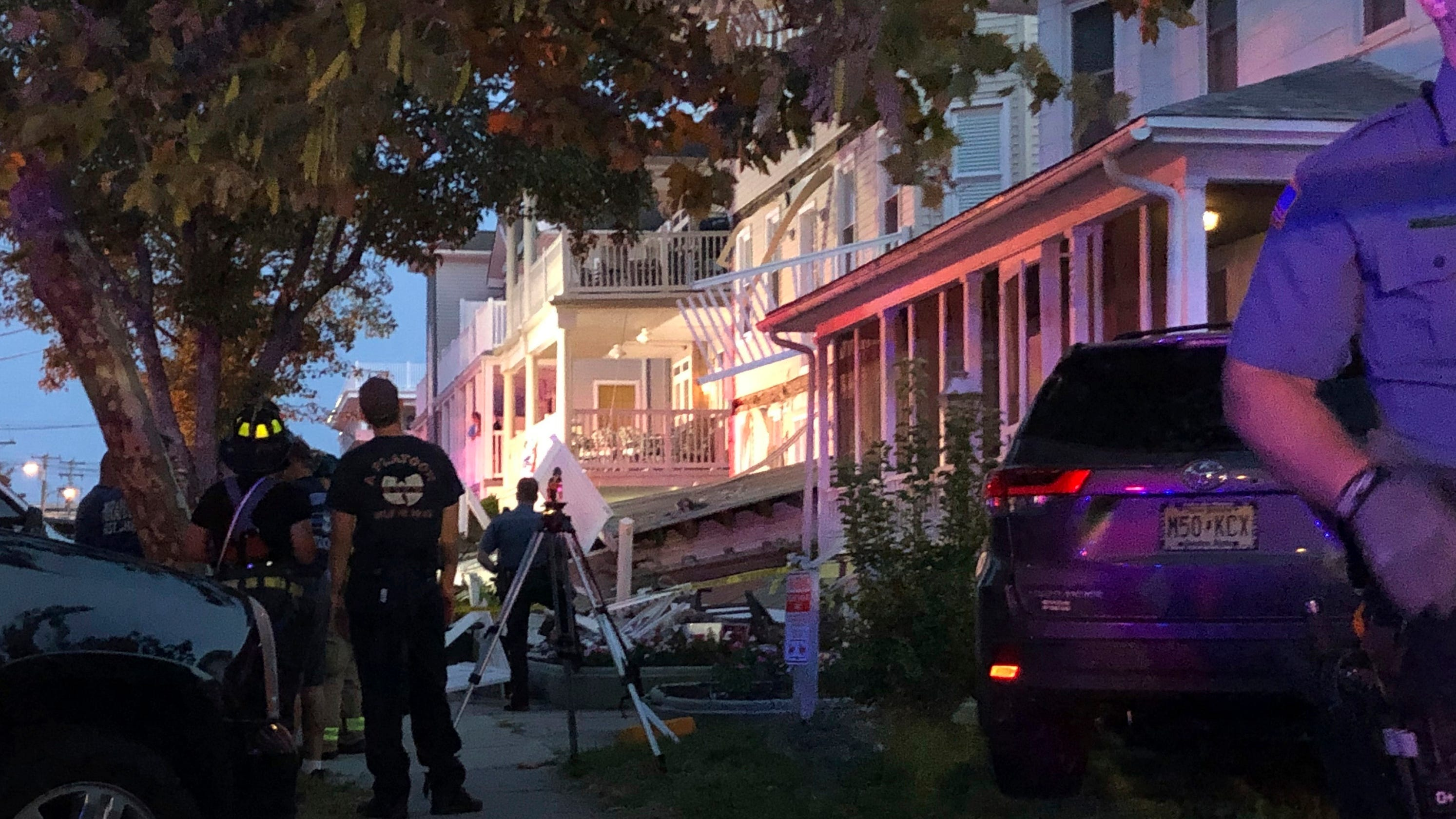 New Jersey deck collapse injures at least 22 people, officials say