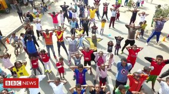 Swapping traffic for a workout on Ethiopia's streets