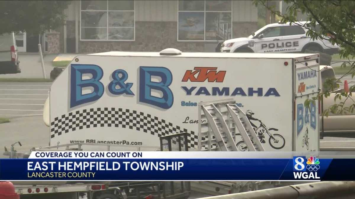 Third break-in this year at East Hempfield motorcycle shop