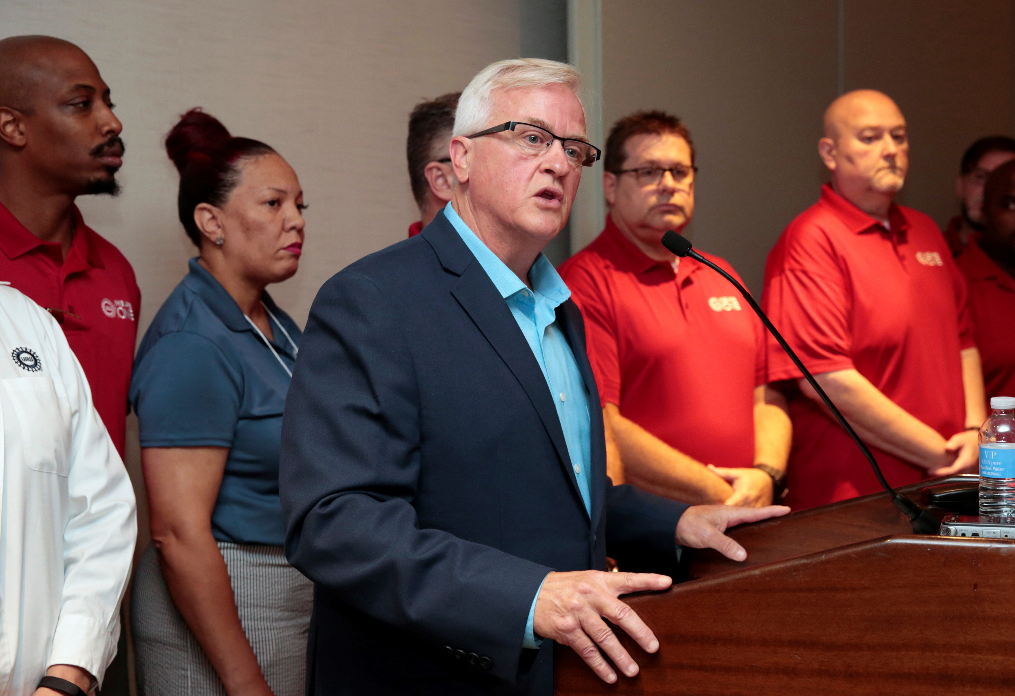 United Auto Workers votes for a nationwide strike against General Motors