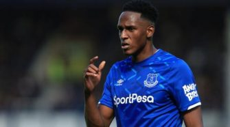 Yerry Mina: Everton defender fined £10,000 for breaking FA betting rules