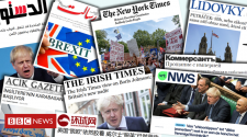 Brexit: 'Has Monty Python taken over?' - what the world press thinks
