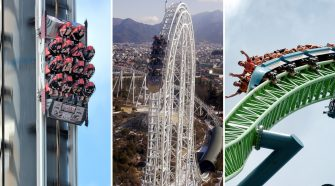 The fastest rollercoasters in the world that hit top speeds of 149mph – so are you brave enough to try them? – The Sun