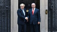 Boris Johnson and Benjamin Netanyahu