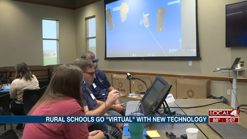 """Rural school districts go """"virtual"""" with new technology"""