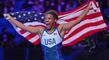 Jacarra Winchester, after foe bites her, wins first wrestling world title – OlympicTalk