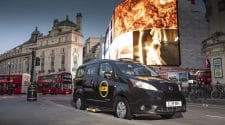 World-famous black cabs go green with launch of fully electric vehicle