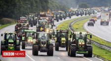 Dutch tractor protest sparks 'worst rush hour'