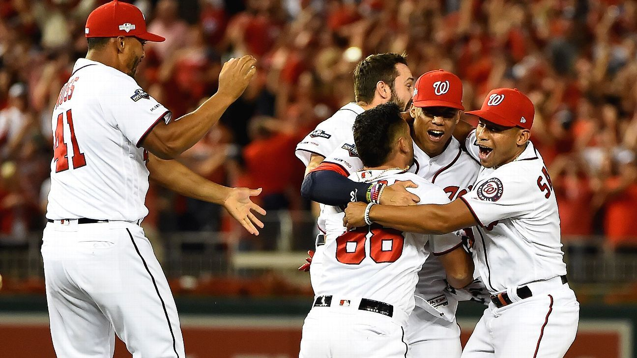 MLB playoffs -- Washington Nationals look to ride high against Los Angeles Dodgers