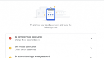 """Google adds password """"checkup"""" into Web account password manager"""