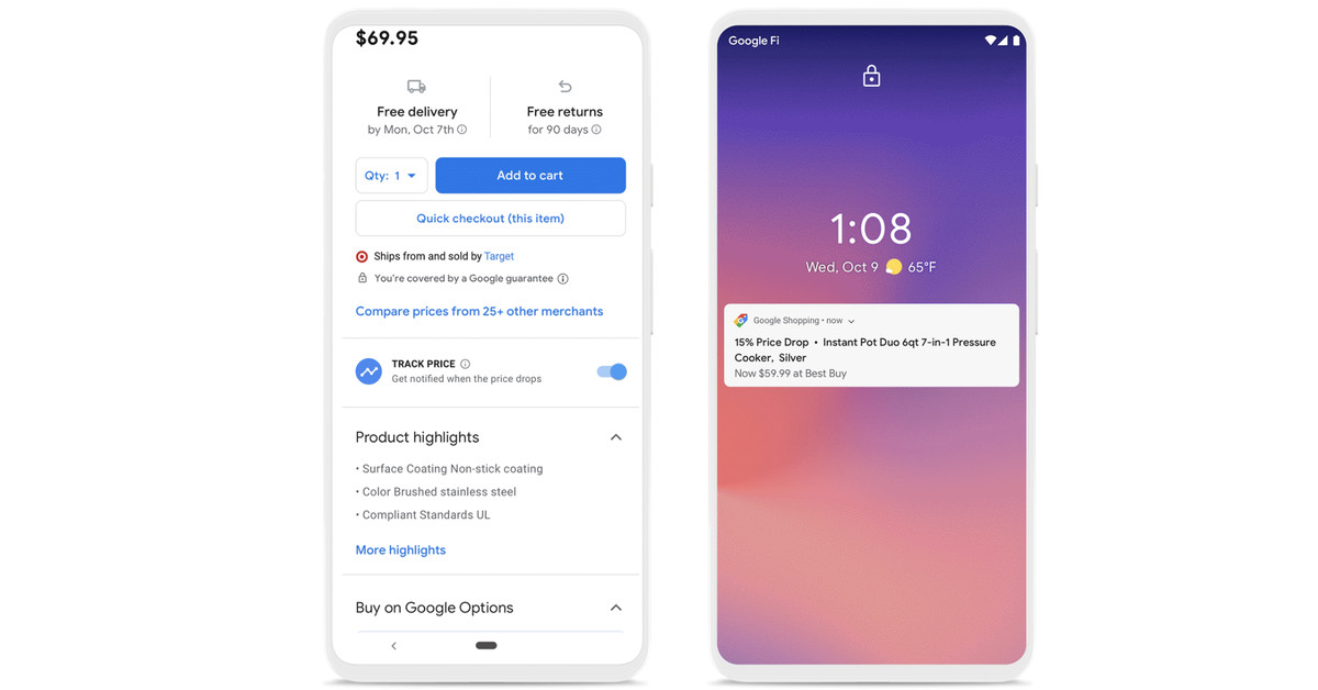 Google Shopping gets a new design with price tracking and a personalized homepage