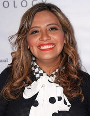 Cristela Alonzo attends The International Myeloma Foundation's 12th Annual Comedy Celebration at The Wilshire Ebell Theatre on November 3, 2018 in Los Angeles, Calif.