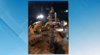 Water main break in Lynchburg closes Rivermont Avenue at Link Road
