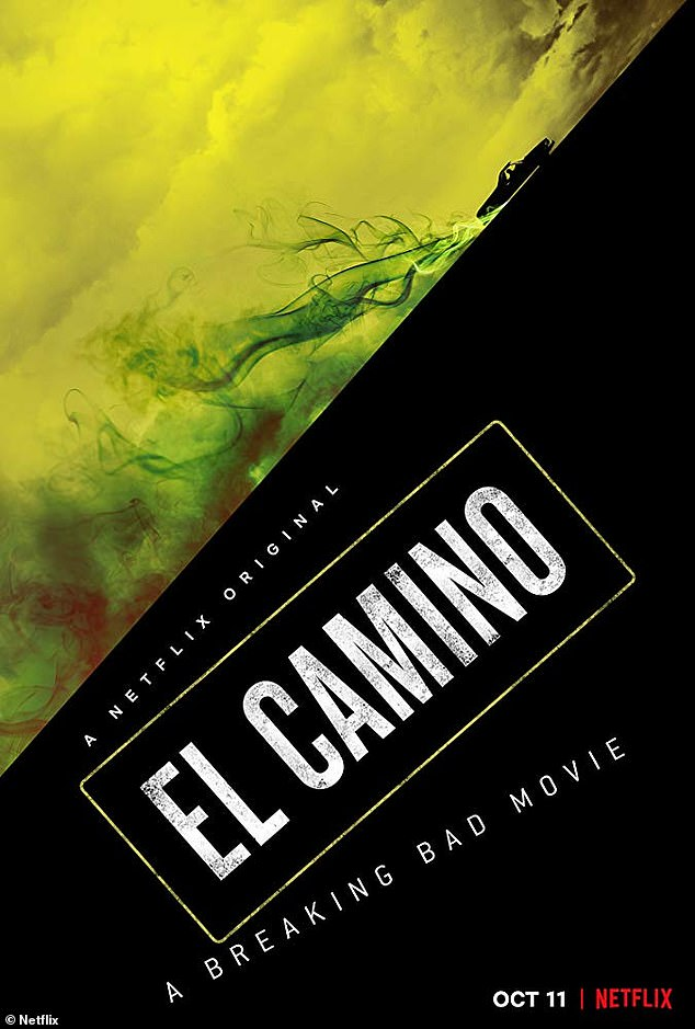 Ready to watch: El Camino is out now in select cinemas and on Netflix